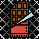 Chocolate Bar Dessert Icon