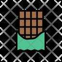 Chocolate Caramel Sweet Icon