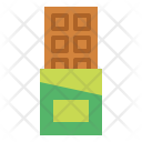 Chocolate Chocolatebar Snack Icon