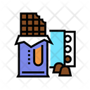 Chocolate Product Color Icon