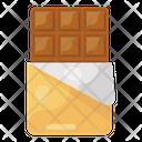 Chocolate Bar Sweet Dark Chocolate Icon