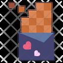 Chocolate Sweet Heart Icon