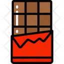 Chocolate Bar Candy Sweets Icon