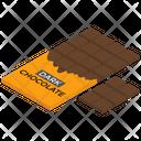 Chocolate Bar Sweet Chocolate Packet Icon