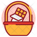 Chocolate Basket Icon