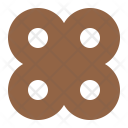 Chocolate biscuit Icon