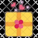 Chocolate Box Giftbox Icon
