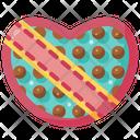 Chocolate Box Heart Box Valentines Day Icon