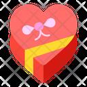 Chocolate Box Heart Icon