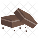 Chocolate Brownie Brownie Food And Restaurant Icon