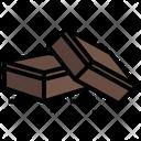 Chocolate Brownie Icon