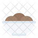 Brownies Serving Snacks Icon