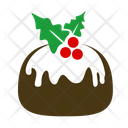Chocolate Cake Cake Christmas Cake Icon