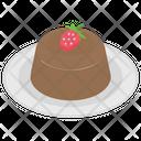 Chocolate Cake Cake Sweet Food Icon