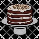 Birthday Cake Chocolate Cake Sweet Icon