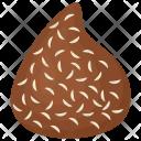 Chocolate Coconut Truffle Icon