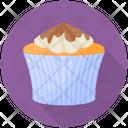 Chocolate Cupcake Icon