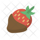 Chocolate Dipped Strawberry Icon