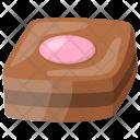 Strawberry Birthday Muffin Icon