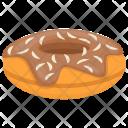 Chocolate Donut Icon