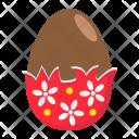 Chocolate Egg Icon