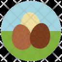 Chocolate eggs Icon