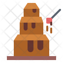 Chocolate fountain Icon