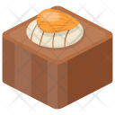 Fudge Almond Brownie Icon