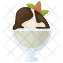 Chocolate Sorbet Ripple Icon