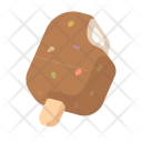 Chocolate ice cream Icon