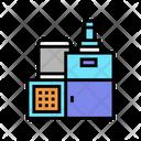 Chocolate Industry Machine Icon