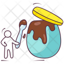 Chocolate Jar Sweet Jar Cocoa Spread Icon