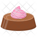Strawberry Cupcake Birthday Icon