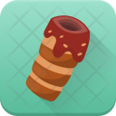 Chocolate Roll Baked Icon