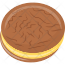 Chocolate Sandwich Cookie Icon