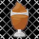 Chocolate Shake Ice Cream Shake Fresh Shake Icon