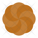 Chocolate spritz cookie Icon