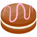Chocolate Vanilla Cake Icon