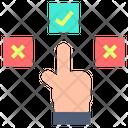 Choice Adjudication Resolving Icon