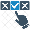 Choice Hand Select Icon