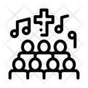 Church Choir Singing Icon