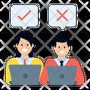 Select Employee Choose Employee Choose Person Icon