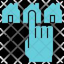 Choose House Home Icon