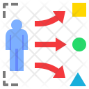Choose Way Geometry Icon