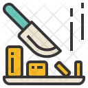 Chop Knife Chopping Icon