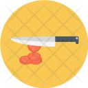 Chop Meat Knife Icon