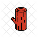 Chopped log Icon