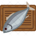 Chopping Board Fish Icon