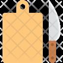 Chopping Block Board Icon