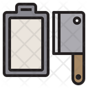 Chopping Boardcleaver Restaurant Kitchen Icon